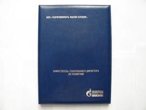 Фото синей папки адресной