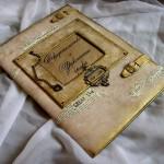 фото: кожаная папка для салона красоты